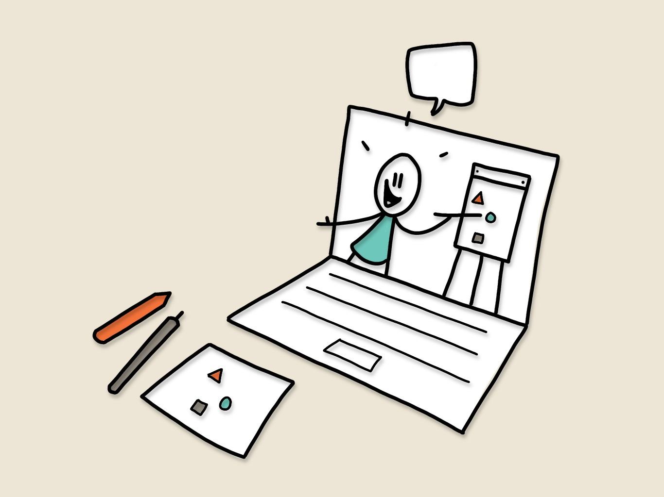 Online basiscursus   Tekenen als communicatietool   De Betekenaar